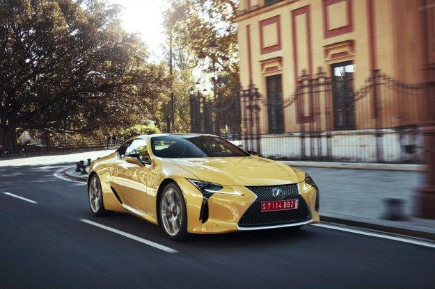 Lexus LC już w tym miesiącu na rynku amerykańskim