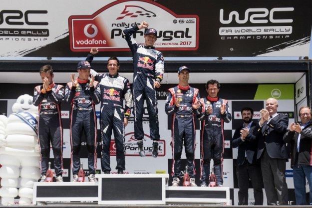 Sebastian Ogier wygrywa w Portugalii po raz piąty