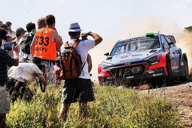 Strefy Kibica podczas rajdu WRC w Polsce