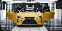www.moj-samochod.pl - Artykuł - Lexus rozpoczyna produkcję modelu LC dla Europy