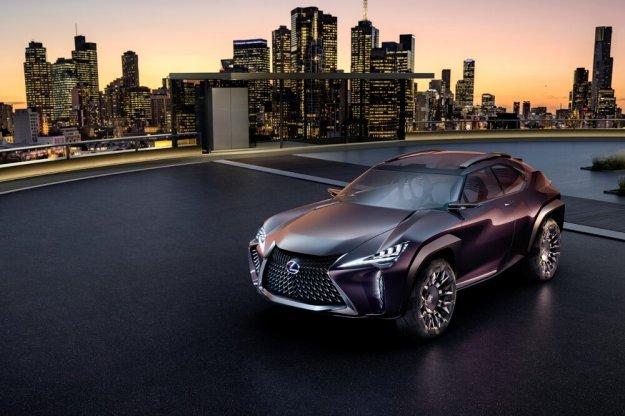 Koncept Lexus UX wyjedzie na ulicę już w 2018 roku