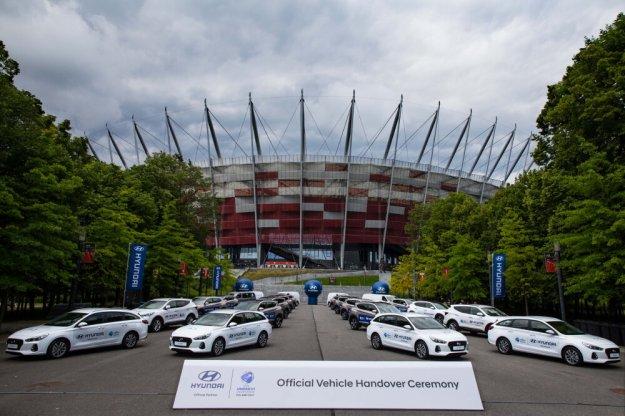 Hyundai przekazał flotę samochodów na UEFA EURO U21 Polska