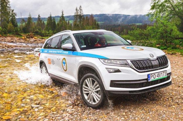 TOPR wzbogaci się o nowe samochody Skoda