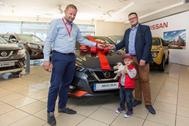 Pierwszy nowy Nissan Micra w rękach klienta