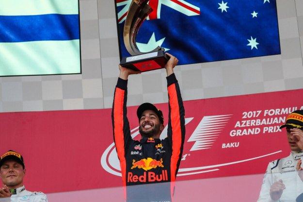 Riccardo ze swoją pierwszą wygraną w tym sezonie