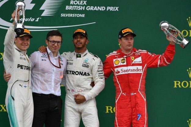 F1: Hamilton ze swoją piątą wygraną w Wielkiej Brytanii