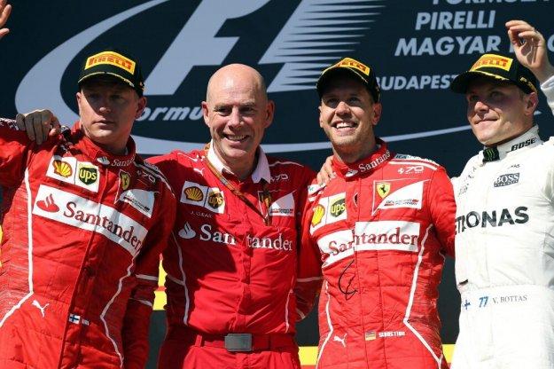 Ferrari z podwójnym podium na Węgrzech
