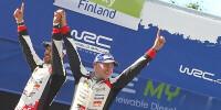 www.moj-samochod.pl - Artykuł - Rajd Finlandii dla Toyoty