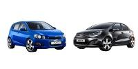 www.moj-samochod.pl - Artykuł - Porównanie Chevrolet Aveo z Kia Rio