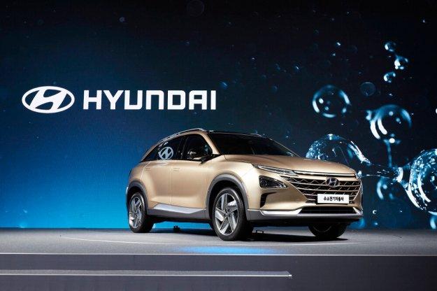 Nowy samochód koreańskiej marki Hyundai napędzany wodorem
