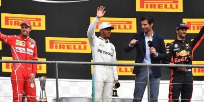 www.moj-samochod.pl - Artykuďż˝ - Hamilton zmniejsza przewagę Vettel po wygranej w Belgii