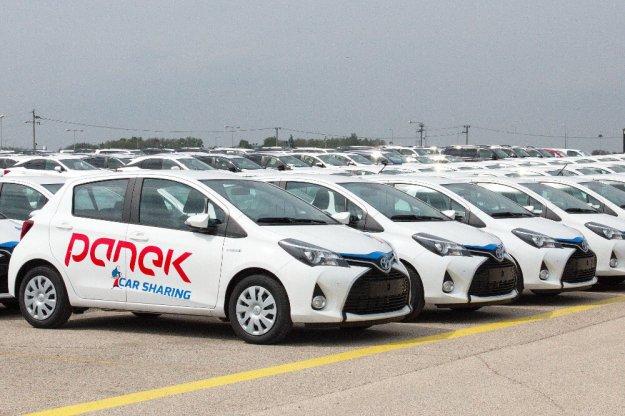 Toyota Yaris Hybrid w usłudze Car Sharing