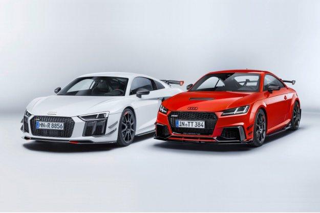 Wyższy poziom dynamiki dla Audi R8 i Audi TT