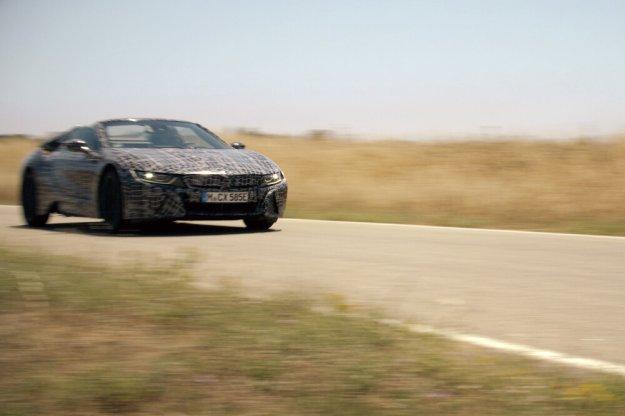 BMW i jego nowość elektryczny roadster i8