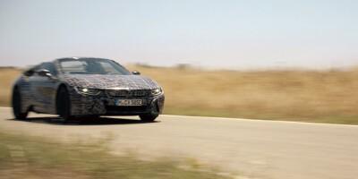 www.moj-samochod.pl - Artykuďż˝ - BMW i jego nowość elektryczny roadster i8