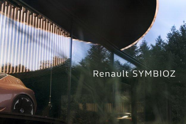 Renault Symbioz wizja przyszłości motoryzacji