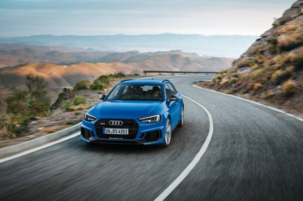 Nowe Audi RS4 Avant powraca ze zwiększoną mocą