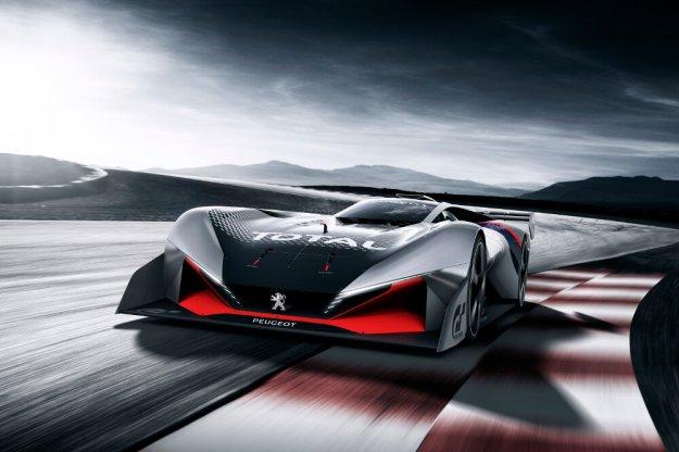 Peugeot L750 R Hybrid Vision Gran Turismo, 750 KM mocy