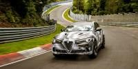 www.moj-samochod.pl - Artykuł - Alfa Romeo z nowym rekordem na torze Nürburgring