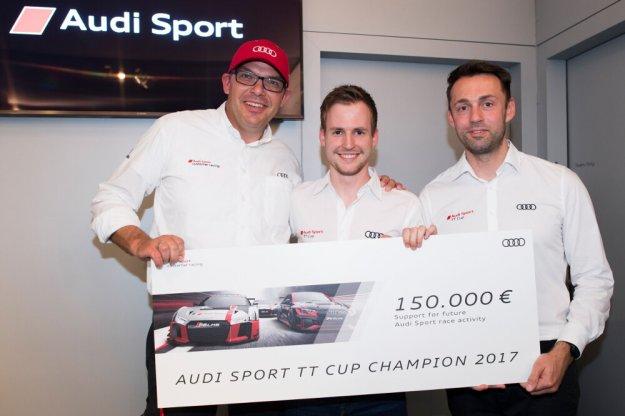 Philip Ellis nowym mistrzem Audi TT Cup