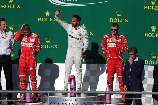 F1 USA, Hamilton nie do powstrzymania