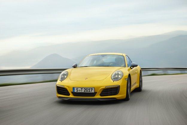 Nowe najlżejsze Porsche 911 Carrera T