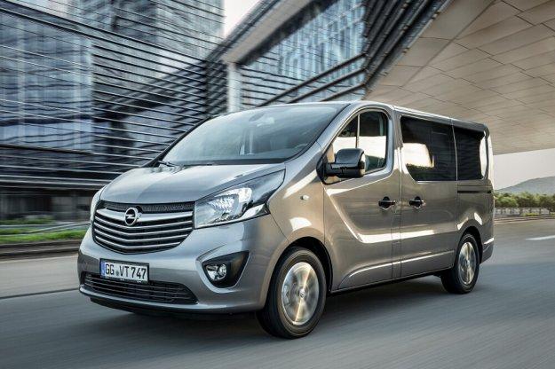 Opel podał ceny za Vivaro Kombi Elegance oraz Tourer