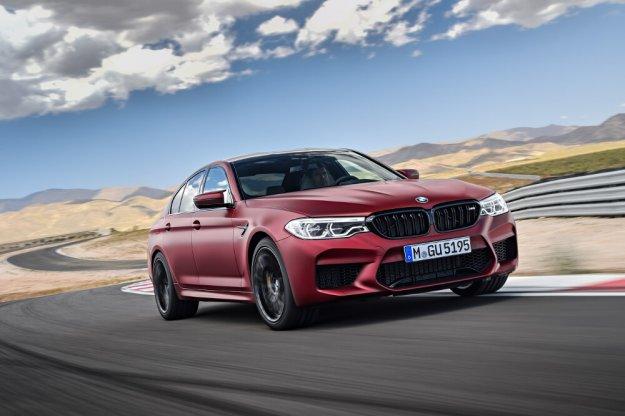 Nowe BMW M5 o mocy 600 KM
