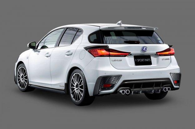 TRD przygotował pakiet tuningowy dla Lexus CT F Sport