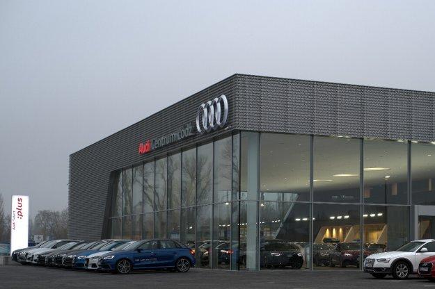 Audi z nowym salonem i punktem serwisowym