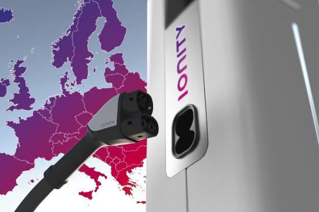 IONITY ogólnoeuropejska sieć ładowania samochodów