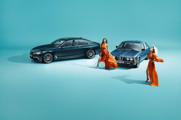 Specjalna limitowana edycja 40 Jahre modelu BMW 7