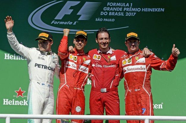 F1 Brazylia, Vettel odzyskuje pierwsze miejsce