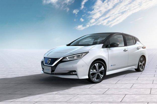 Nowy Nissan Leaf z pierwszą nagrodą
