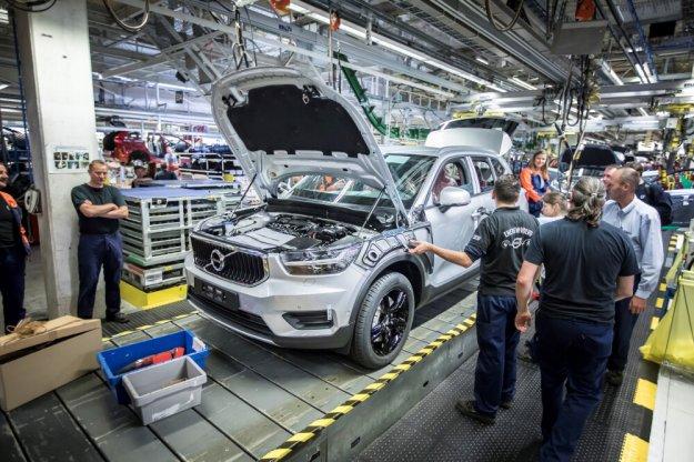 Volvo rozpoczęło produkcję nowego XC40