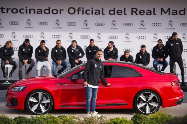 Gracze Real Madryt otrzymali nowe Audi