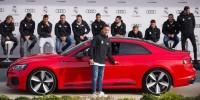 www.moj-samochod.pl - Artykuďż˝ - Gracze Real Madryt otrzymali nowe Audi