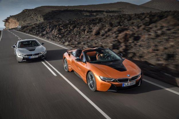 Nowe BMW i8 w dwóch wersjach nadwozia