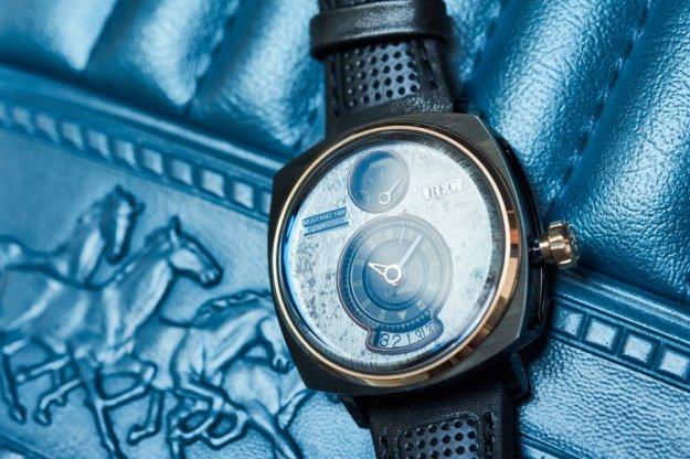 Unikatowe zegarki z duszą Forda Mustang