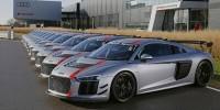 www.moj-samochod.pl - Artykuďż˝ - Nowe Audi R8 LMS GT4 już u pierwszych klientów