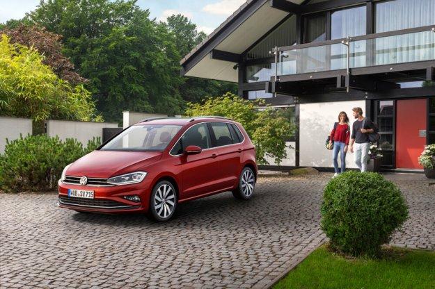 Volkswagen Golf Sportvan po liftingu już dostępny