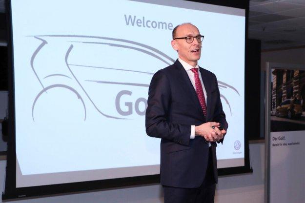 Przygotowanie do 8 generacji Volkswagen Golf