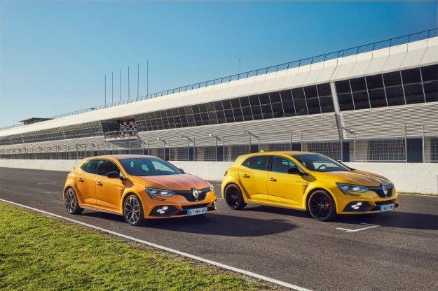 Wyróżniający się kompaktowy Renault Megane R.S