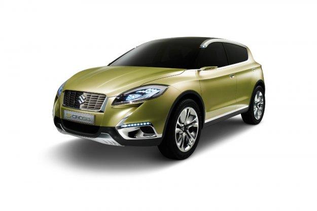 S-Cross Concept na pomoc Suzuki