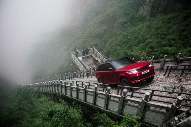 Range Rover PHEV przekroczył wrota Nieba