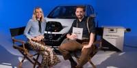 www.moj-samochod.pl - Artykuďż˝ - Ambasadorka Nissana zaprezentuje elektryczny bolid