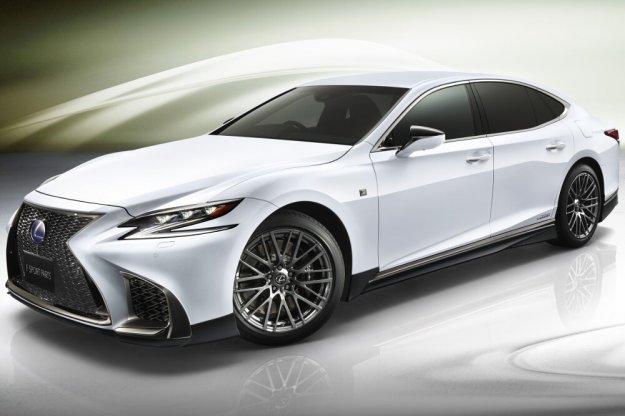 TRD bierze się za kolejny model Lexusa