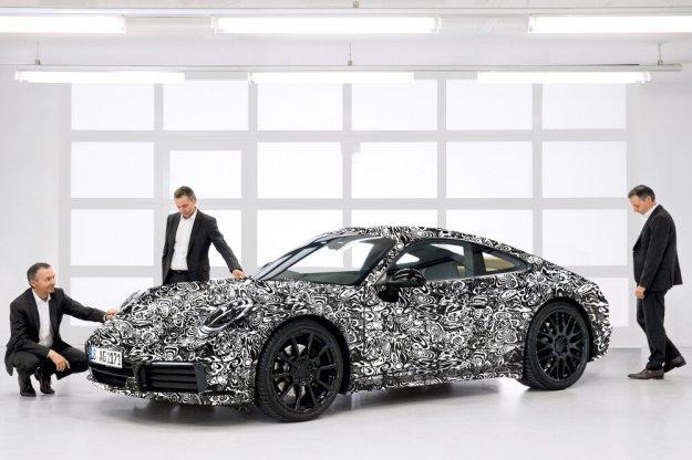 Porsche 911 generacja 992 pozostanie zgodna z tradycją
