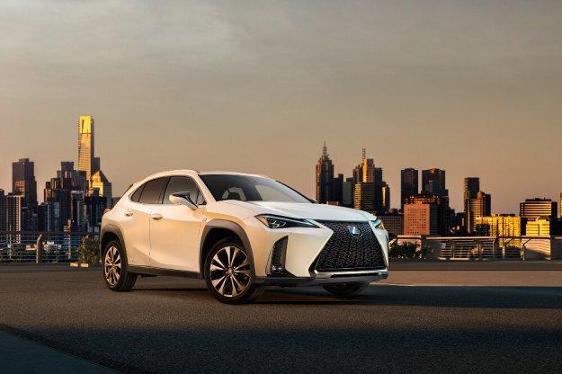 Lexus prezentuje pierwsze zdjęcie modelu UX