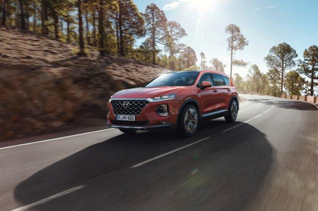 Hyundai Santa Fe nowy komfortowy SUV